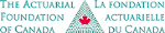 Logo for La fondation actuarielle du Canada
